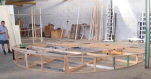 Les stand en bois