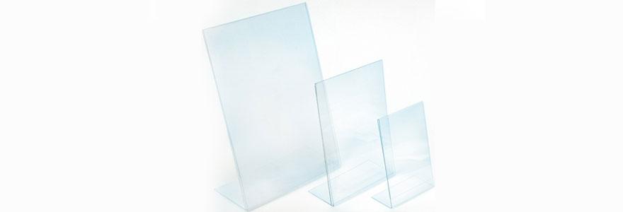Chevalet en plexiglas